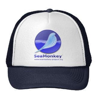 Proyecto de SeaMonkey - logotipo vertical Gorros Bordados