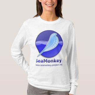 Proyecto de SeaMonkey - logotipo vertical Playera