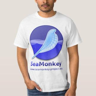 Proyecto de SeaMonkey - logotipo vertical Playeras