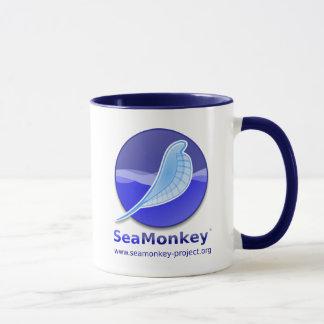Proyecto de SeaMonkey - logotipo vertical Taza