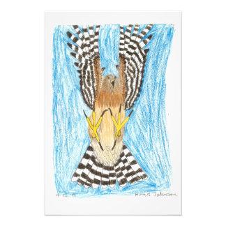 Proyecto del arte de la juventud del rapaz en cojinete