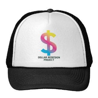 Proyecto del dólar ReDe$ign Gorros Bordados