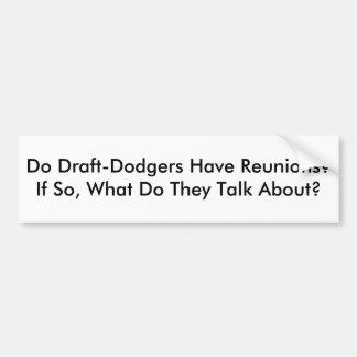¿Proyecto-Dodgers tiene reuniones?  Si es así qué  Pegatina De Parachoque