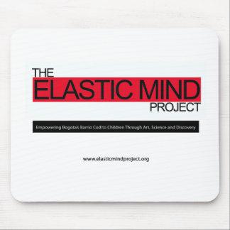 Proyecto elástico de la mente tapetes de raton