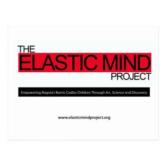Proyecto elástico de la mente postal