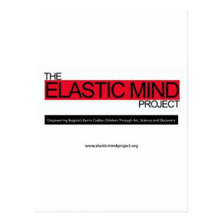 Proyecto elástico de la mente postales