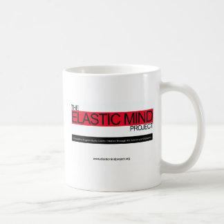 Proyecto elástico de la mente taza de café