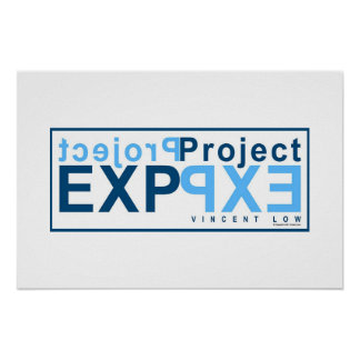 Proyecto EXP (azul) Póster
