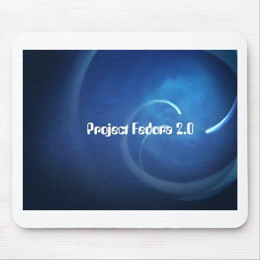 Proyecto Fedora 2,0 Alfombrillas De Ratón