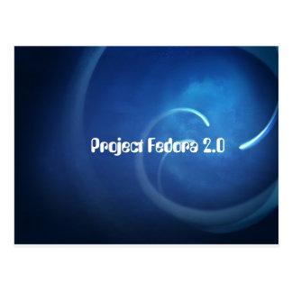 Proyecto Fedora 2,0 Postales