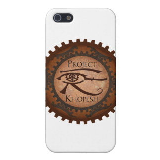 Proyecto Khopesh iPhone 5 Protectores