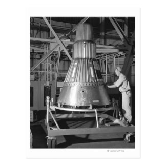 Proyecto Mercury - fotografía de la cápsula #2 Postal