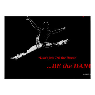 Proyecto negro #1 de la danza del poster ERT