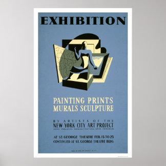Proyecto Nueva York del arte WPA 1940 Impresiones