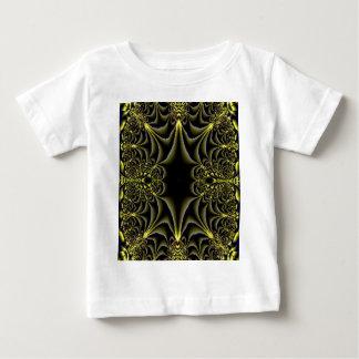 Proyecto original del oro del fractal de la selva camisetas
