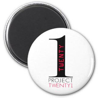 Proyecto Twenty1 Imán Redondo 5 Cm