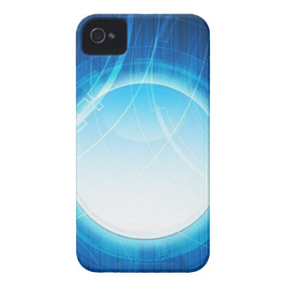 Proyector azul iPhone 4 Case-Mate cobertura
