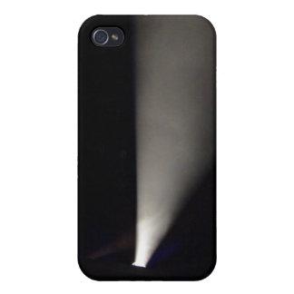 Proyector contra fondo oscuro iPhone 4 cobertura