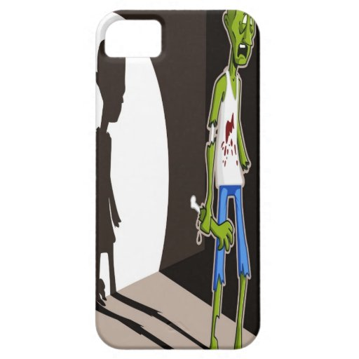 Proyector del zombi iPhone 5 carcasa