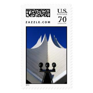 Proyector en éxito timbres postales