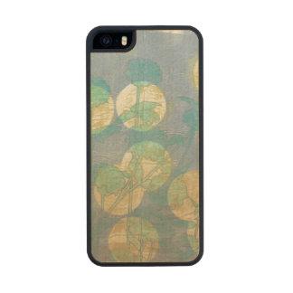 Proyector I floral Funda De Arce Carved® Para iPhone 5