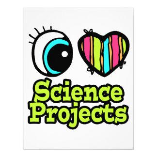 Proyectos brillantes de la ciencia del amor del co invitación