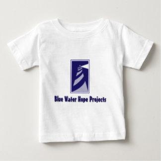 Proyectos de la esperanza del agua azul playera de bebé