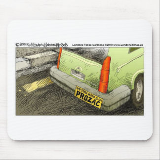 Prozac Bumper Sticker Funny Tees Cards & Gifts Mouse Pad