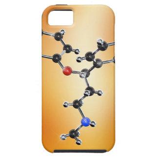 Prozac. Modelo molecular del antidepresivo iPhone 5 Protector