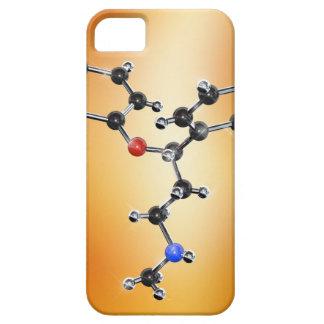Prozac. Modelo molecular del antidepresivo iPhone 5 Carcasas
