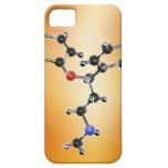 Prozac. Modelo molecular del antidepresivo iPhone 5 Carcasa