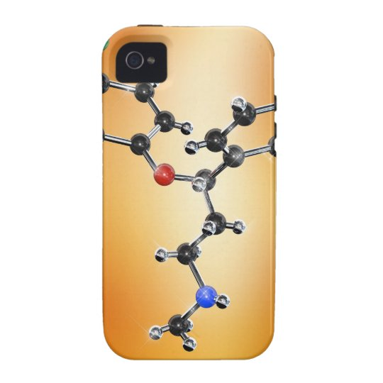 Prozac. Molecular model of the antidepressant Vibe iPhone 4 Cover