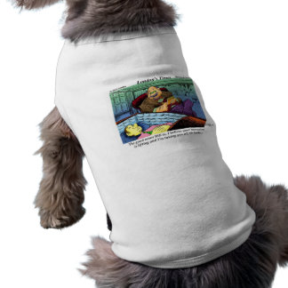Prozac Time Over Funny Gifts & Collectibles Doggie T Shirt