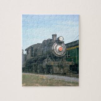 PRR 4-4-0 class D16sb #1223, 1966_Trains Jigsaw Puzzle