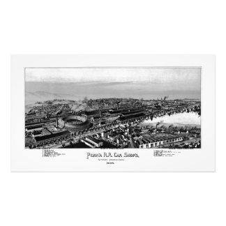 PRR Altoona hace compras la ampliación 1895 de la Fotografías