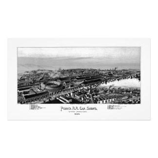 PRR Altoona Shops 1895 Kodak Photo Enlargement