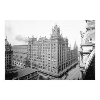 PRR Broad Street Station Kodak Photo Enlargement