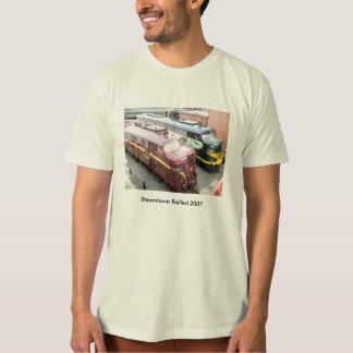 PRR E8A 5809 and ERIE E8A 833 @ Steamtown T-Shirt