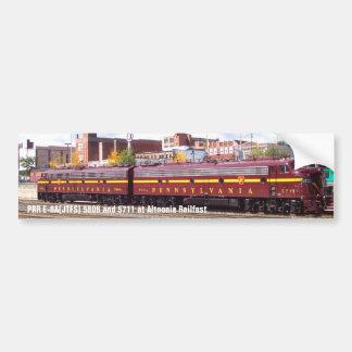 PRR E-8A(JTFS) 5809 and 5711 at Altoonia Railfest Bumper Sticker