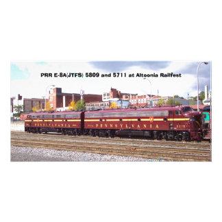 PRR E-8A(JTFS) 5809 and 5711 at Altoonia Railfest Photo Cards