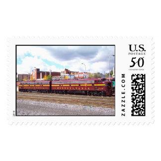 PRR E-8A(JTFS) 5809 and 5711 at Altoonia Railfest Postage