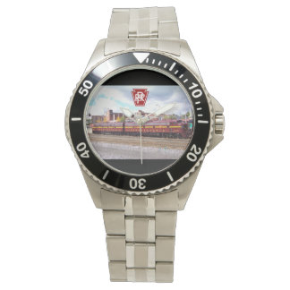 PRR E-8A(JTFS) 5809 and 5711 at Altoonia Railfest Wristwatch