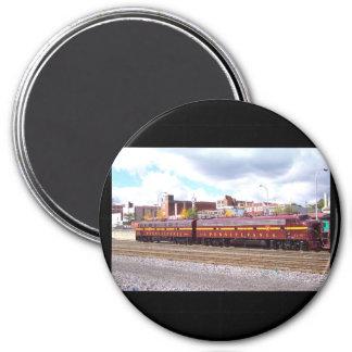 PRR E-8A (JTFS) 5809 y 5711 en Altoonia Railfest Imán Redondo 7 Cm