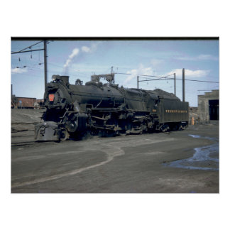 PRR electric class GG1 #4859_Trains Poster