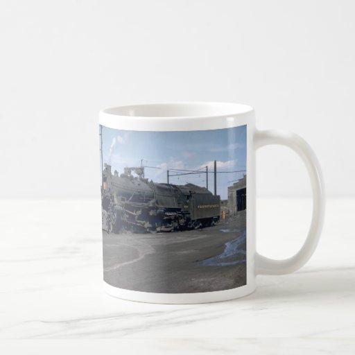 PRR electric class GG1 Classic White Coffee Mug