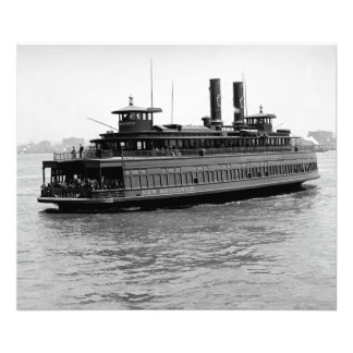 Prr Ferry New Brunswick Kodak Photo Enlargement