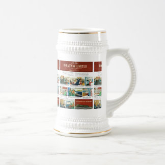 PRR New Broadway Limited Beer Stein