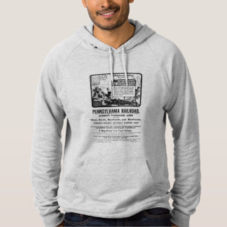 PRR Pennsylvania Limited Train 1900 Hoodie
