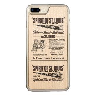 PRR Streamliner Spirit of St. Louis Carved iPhone 8 Plus/7 Plus Case