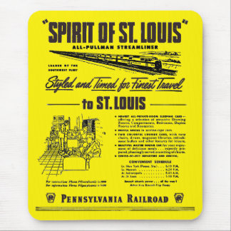 PRR Streamliner Spirit of St. Louis Mouse Pad